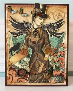 Steampunk card pic-1