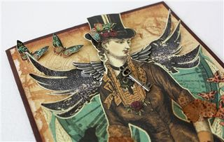 Steampunk card-1