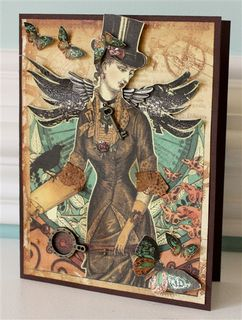 Steampunk card pic-1-2