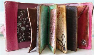 Canvas book open