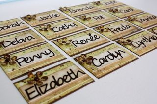 Nature's Gifts Album name tags 2