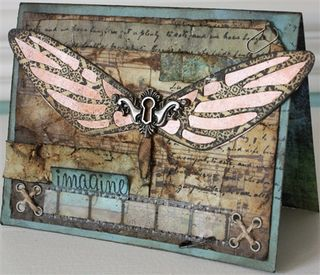 Butterfly card TH-1-2