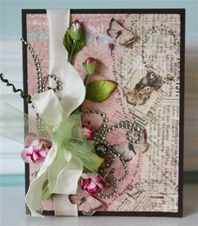 Card-prima flowers & ribbon-1