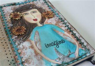 Art journal girl-1
