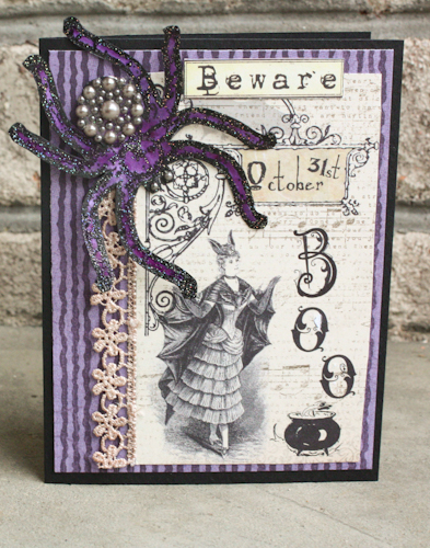 Halloween card 5-1