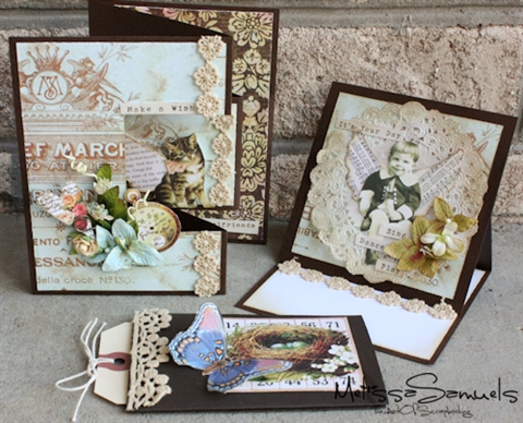 New april card workshop the art of scrapbooking by melissa samuels m4hsunfo