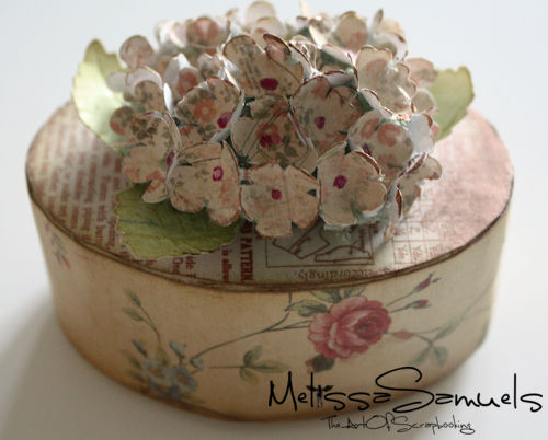 Tutorial Thursday Hydrangea Using Paper Blossoms Punches The Art