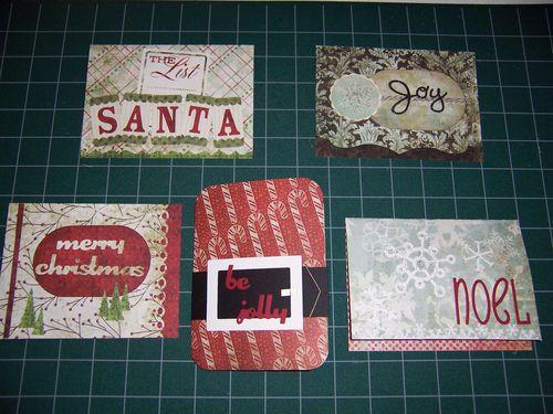 LaVae's Christmas Cards